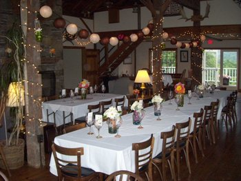 Dining room at The Inn at Willow Pond.