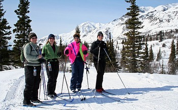 Family Skiing at Majestic Valley Lodge
