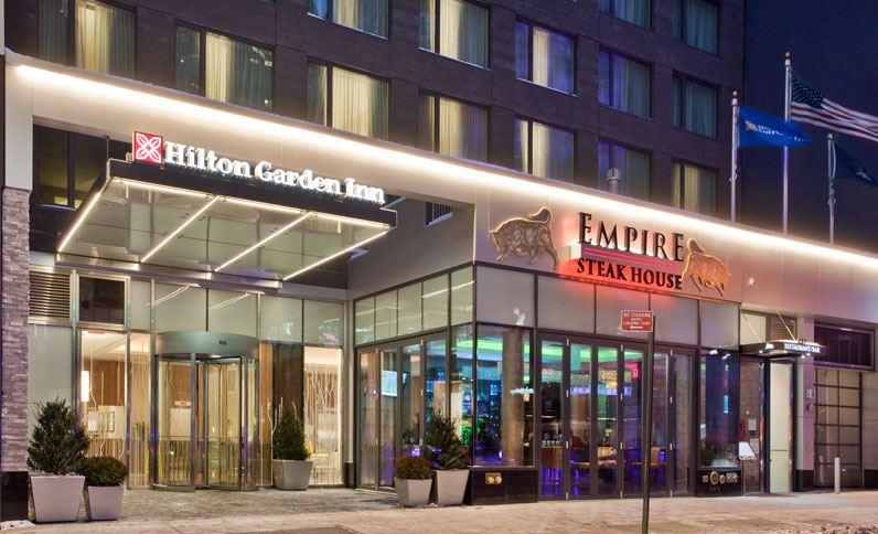 Exterior View of Hilton Garden Inn Central Park South