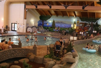 Water park at Three Bears Lodge.