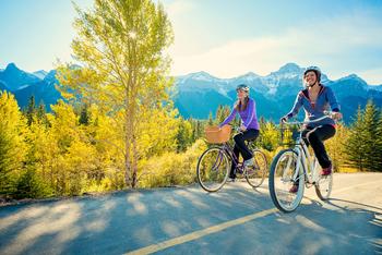Biking near Solara Resort & Spa.