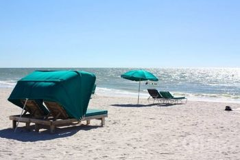 The beach at iTrip - St. Pete Beach.