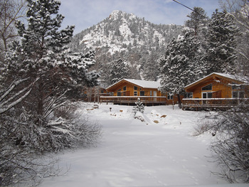 Winter time at Riverview Pines.