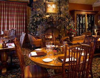 Wild Sage restaurant at Rusty Parrot Lodge.