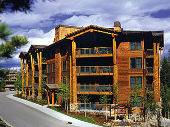 Exterior view of Teton Club.