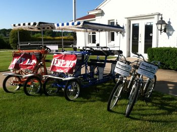 Bike rental at Weathervane Inn.