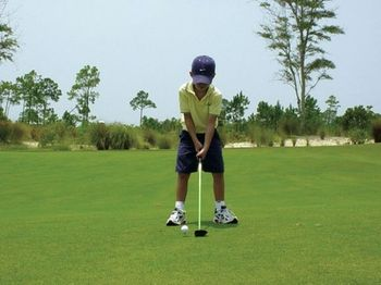 Golfing at WaterColor Inn & Resort