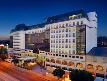 Exterior view of Sofitel Los Angeles.