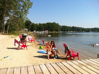 Beach Fun at Oak Cove Resort