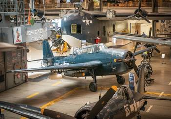 National Naval Aviation Museum near Pointe South.