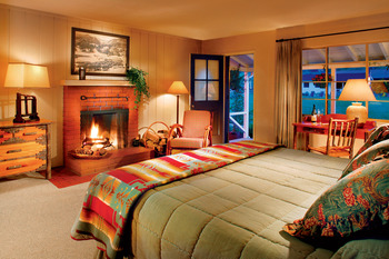 Guest room at Alisal Guest Ranch and Resort.