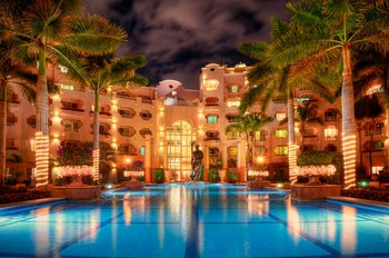 Exterior View of Pueblo Bonito Rose