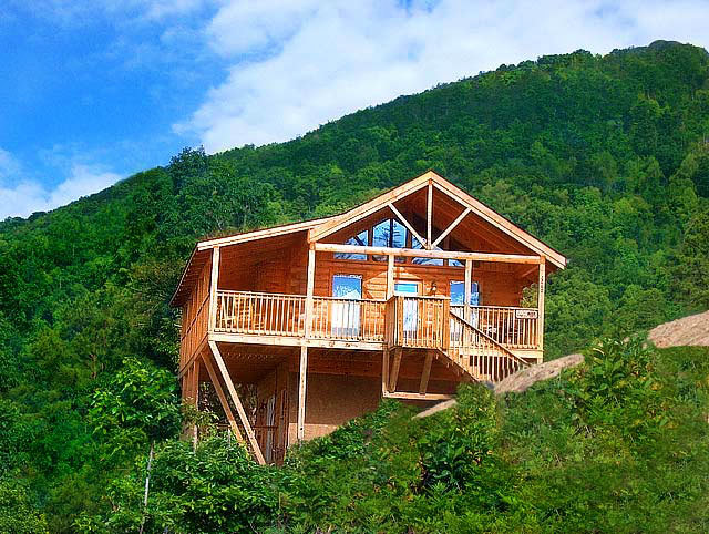 American mountain rentals pigeon forge tn resort for Fishing in pigeon forge tn