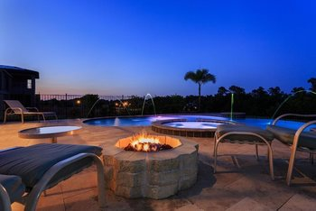 Rental pool at Reunion Vacation Homes.