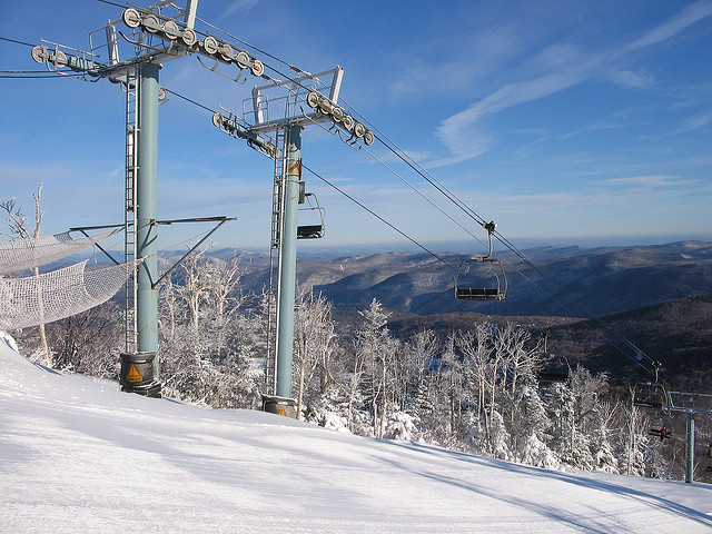 Fresh Powder at Killington