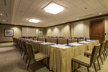 Conference room at The Seagate Hotel & Spa.
