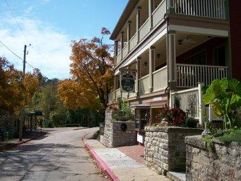 Exterior view of All Seasons Inn.