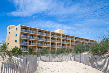 Exterior view at Quality Inn Oceanfront Ocean City.
