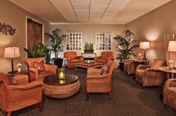 Spa lounge at La Cantera Hill Country Resort.