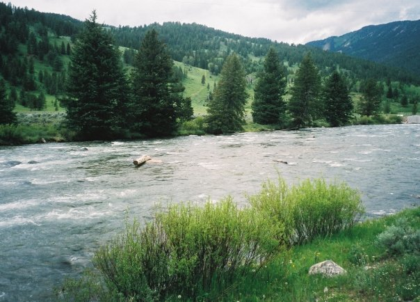 River view at 320 Guest Ranch.
