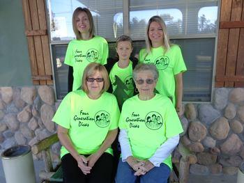 Family at The Lodge At Eureka Springs.