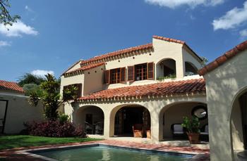 Exterior view of Casa do Sol.