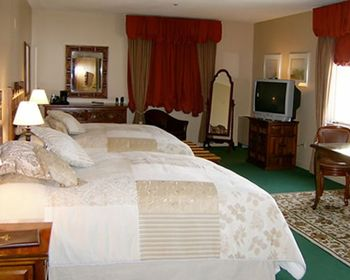 Guest room at La Tourelle Resort & Spa.
