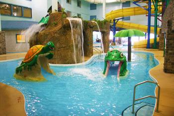 Indoor kiddie pool at Castle Rock Resort & Waterpark.