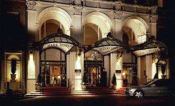 Exterior view of Mark Hopkins Inter-Continental San Francisco.