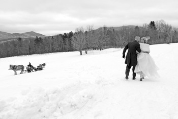 Winter Wedding at The Mountain Top Inn & Resort
