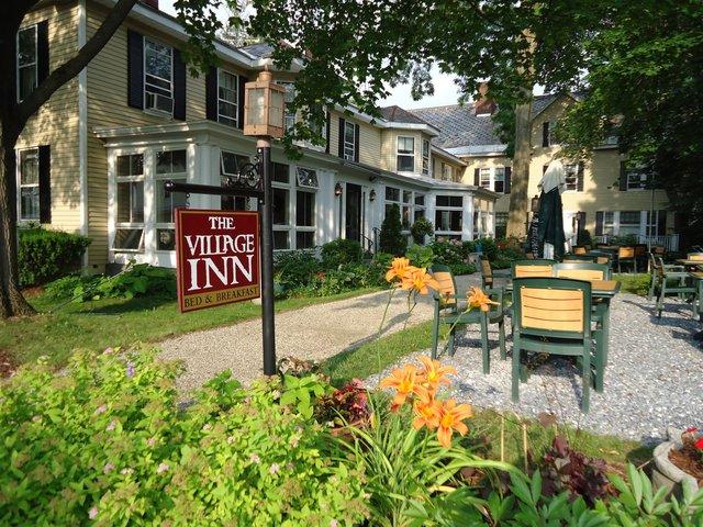 The Village Inn exterior.