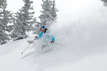 Skiing at SkyRun Vacation Rentals - Vail, Colorado.