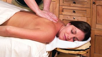 Back massage at Westgate Park City Resort & Spa.