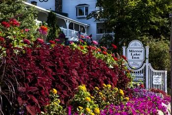 Spring at Mirror Lake Inn Resort & Spa.