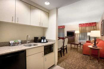 Kitchenette at Hampton Inn & Suites Outer Banks/Corolla.