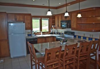 Villa kitchen at Sun Castle Resort Lakefront.