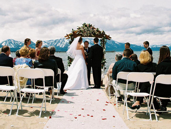 Wedding at Aston Lakeland Village.