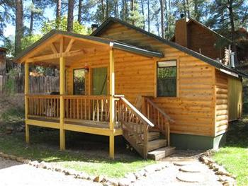 Cabin Exterior at The Upper Canyon Inn