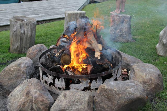 Campfires at Wildwood on the Lake