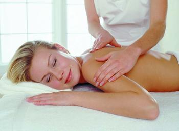 Massage at Chateau on the Lake.