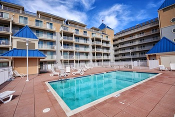 Rental pool at Shoreline Properties.