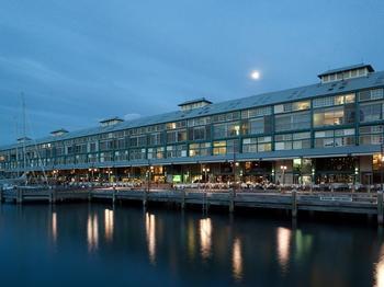 Exterior view of BLUE Sydney.