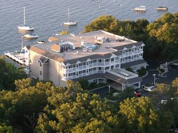 Aerial view of The Geneva Inn.