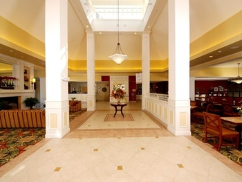 Entrance at Hilton Garden Inn Myrtle Beach
