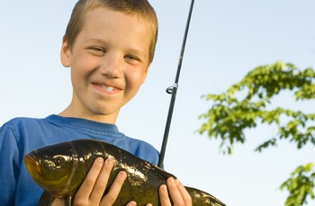 Kids Love Fishing at The Country Place Resort