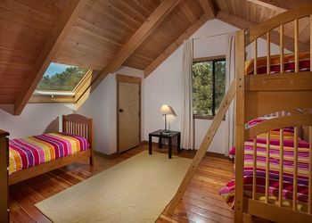 Rental bedroom at Sea Ranch Lodge Vacation Rentals.