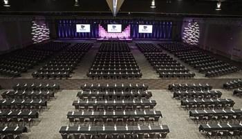 Convention center at Kalahari Waterpark Resort Convention Center.