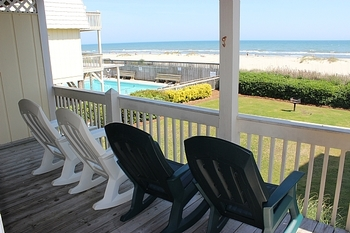 Rental porch at Williamson Realty. Inc.