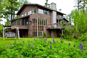 Vacation rental at Bearskin Lodge.