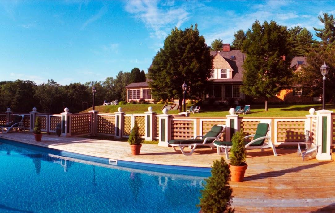 Outdoor pool at Inn At Lake Joseph.